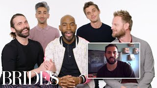 Download Queer Eye's Fab Five Help a Stranger Propose to His Girlfriend | Brides Video