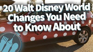 Download 20 Walt Disney World Changes You NEED to Know About! Video
