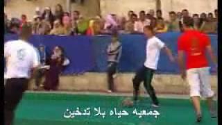 Download الداعية مصطفى حسنى و النجوم وجزء من مباراه كرة قدم Video