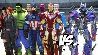 Download The Avengers VS Optimus Prime - EPIC Battle Video