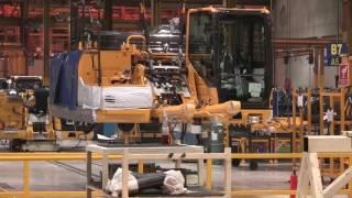 Download The Komatsu UK Factory Tour - Assembly line Video