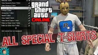 Download GTA Online: All Special Tops/T-Shirts So Far Video