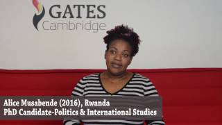 Download Alice Musabende: family, state-building and Gates Cambridge Video
