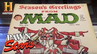 Download Pawn Stars: Mad Magazine Cover Art   History Video