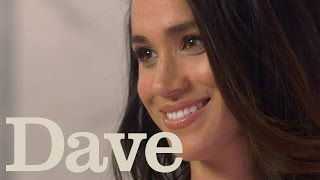 Download Meghan Markle Rapid Fire Questions | Suits Season 5 | Dave Video
