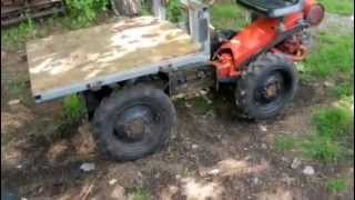 Download Gravely 4WD Dump Truck with Grear Reduction Wheels Video