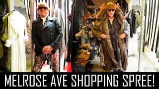 Download CRAZY SHOPPING SPREE ON MELROSE AVENUE! Video