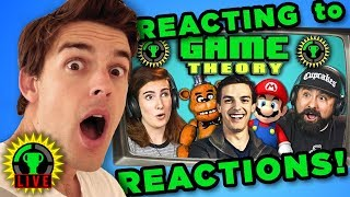 Download MATPAT REACTS to YOUTUBERS REACT to GAME THEORY! Video