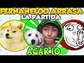 Download AGAR.IO FERNANFLOO SE COME A TODOS Y ARRASA EN LA PARTIDA GAMEPLAY AGARIO Video