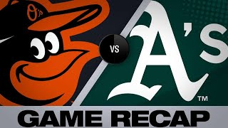 Download Phegley's HR, Bassitt lead A's | Orioles-A's Game Highlights 6/19/19 Video