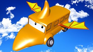 Download Baby Lily is a PTERODACTYL - Tom's Paint Shop in Car City 🎨 l Cartoons for Kids Video