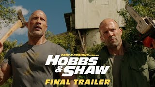 Download Fast & Furious Presents: Hobbs & Shaw - In Theaters 8/2 (Final Trailer) [HD] Video