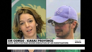Download Kasai province killings : government releases footage allegedly showing execution of UN investiga... Video