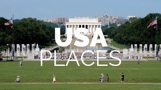Download 25 Best Places to Visit in the USA - Travel Video Video