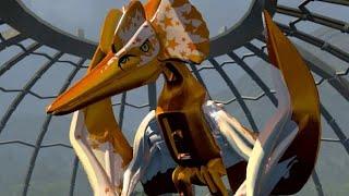 Download LEGO Jurassic World - Pteranodon Unlock Location + Gameplay (Skeleton & Custom Dinosaur Showcase) Video