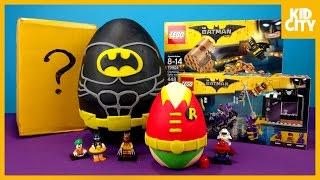 Download LEGO Batman Movie Play-Doh Surprise Egg with LEGO Batman Toys | KIDCITY Video