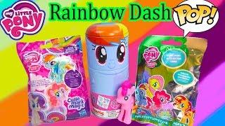 Download MLP My Little Pony Rainbow Dash Tin-Tastic Funko Pop Vinyl Blind Bags Figures Happy Cookieswirlc Video