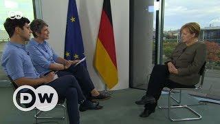 Download Ангела Меркель в интервью DW Video