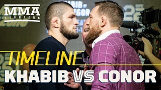 Download Khabib Nurmagomedov vs. Conor McGregor UFC 229 Timeline - MMA Fighting Video