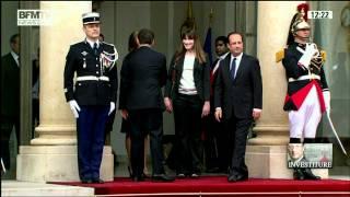 Download BFM TV Passation de pouvoir entre Nicolas Sarkozy et François Hollande 15 05 2012 12h19 01h41 688 Video