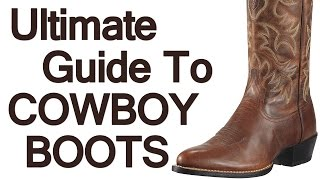 Download How To Wear Cowboy Boots | Ultimate Guide To The Western Boot | Roper Stockman Buckaroo Boot Video Video