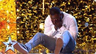 Download Comedian Kojo gets Simon's GOLDEN BUZZER | Auditions | BGT 2019 Video