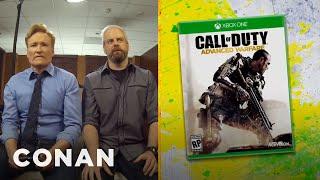 Download Clueless Gamer: Conan Reviews ″Call Of Duty: Advanced Warfare″ - CONAN on TBS Video