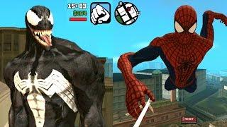 download mod skin spiderman gta sa android