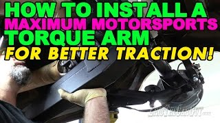 Download How To Install a Maximum Motorsports Torque Arm For Better Traction! Video