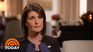 Download Nikki Haley Speaks Out On Jamal Khashoggi Murder, Working With President Donald Trump | TODAY Video