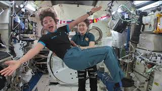 Download Christina Koch and Jessica Meir in-flight interviews from ISS Video