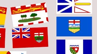 Download Transforming Canadian Flags Video