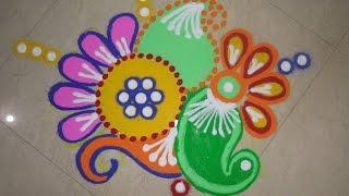 Download Shaded Rangoli Design (NEW) Video