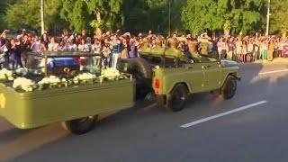Download Fidel Castro's Ashes Begin 4 Day Journey Across Cuba Video
