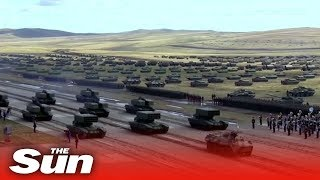 Download Vostok 2018: Russia and China show off their forces Video