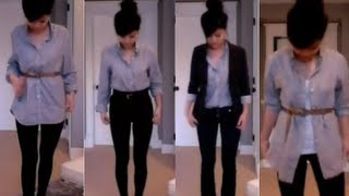 Download Fashion Ideas   4 Different ways to wear a guy's dress shirt! Video
