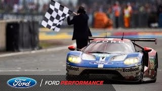 Download Ford GT Claims GTE Pro Victory | Le Mans | Ford Performance Video