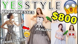 Download $800 YESSTYLE PROM DRESS HAUL!!! TRYING ON PROM DRESSES UNDER $100!! 2018 Video