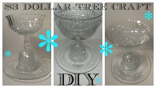 Download DIY - $3 DOLLAR TREE SERVING DISH - HOLIDAYS - WEDDINGS - CELEBRATION Video