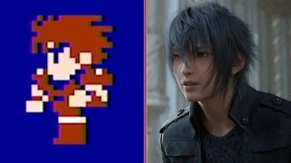 Download Final Fantasy 1987 vs. Final Fantasy 2016 Graphics Comparison Video