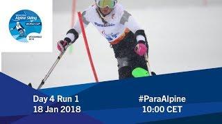 Download 2018 World Para Alpine Skiing World Cup | Veysonnaz | Day 4 Run 1 Video