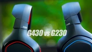 Download Logitech G430 vs G230 Headset Review Video