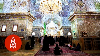 Download Behold the Shimmering Beauty of Iran's Glass Mosque Video