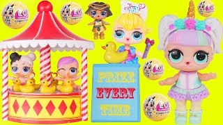 Download Unicorn and JOJO Babe Babysit Custom LOL Surprise Dolls Video
