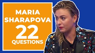 Download Maria Sharapova Answers 22 Questions About Herself Video