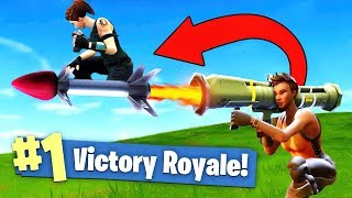 Download GUIDED MISSILE *ROCKET RIDING* In Fortnite Battle Royale! Video