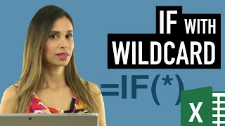 Download Excel IF Function with PARTIAL Text Match (IF with Wildcards) Video