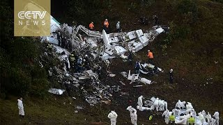 Download Colombia plane crash: Chartered aircraft goes down south of Medellin Video