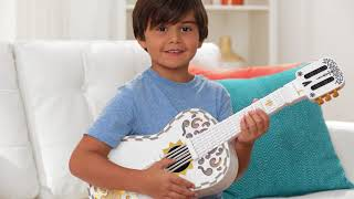 Download Mattel's Disney/Pixar Coco Toy Guitar Demo Video