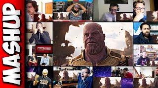 Download Avengers: Infinity War Trailer Reaction Mashup Video